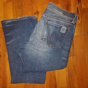 ECITIZENS OF HUMANITY SIZE 26 BOHO BOOTCUT JEANS